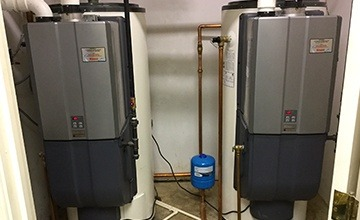 Hot water heater repair & replacement